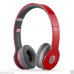 Red Headband Headphones