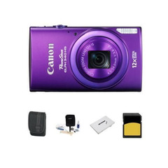 Canon PowerShot ELPH 340 HS Digital Camera Bundle