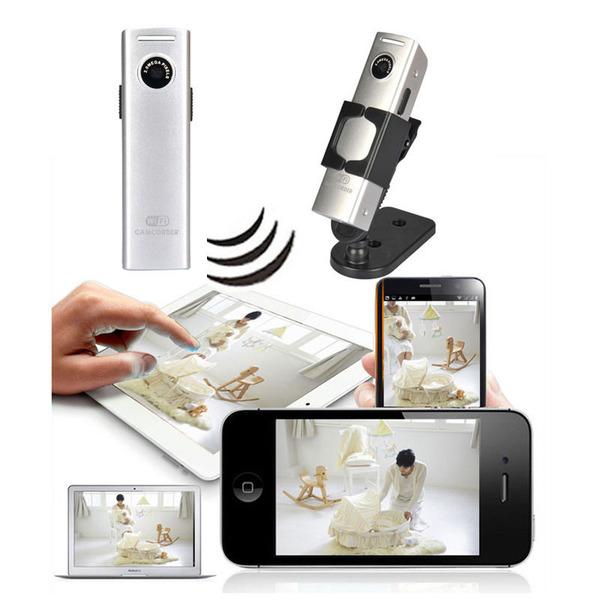 Wifi Wireless Mini Spy Hidden Security Surveillance Camera For Android IOS PC