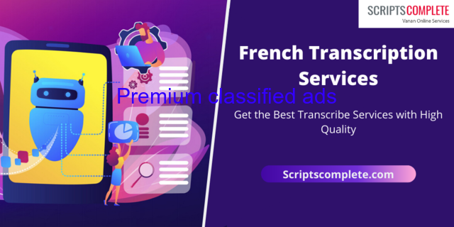 Certified French Transcription Services